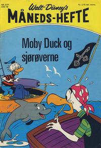 Cover Thumbnail for Walt Disney's Månedshefte (Hjemmet / Egmont, 1967 series) #5/1971