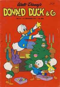 Cover Thumbnail for Donald Duck & Co (Hjemmet / Egmont, 1948 series) #52/1971