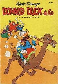 Cover Thumbnail for Donald Duck & Co (Hjemmet / Egmont, 1948 series) #2/1972