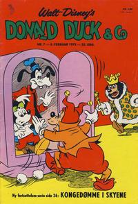 Cover Thumbnail for Donald Duck & Co (Hjemmet / Egmont, 1948 series) #7/1972