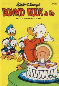 Cover Thumbnail for Donald Duck & Co (Hjemmet / Egmont, 1948 series) #8/1972