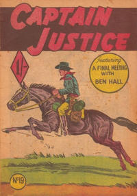 Cover Thumbnail for Captain Justice (Calvert, 1954 series) #19
