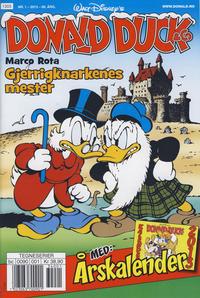 Cover Thumbnail for Donald Duck & Co (Hjemmet / Egmont, 1948 series) #1/2013