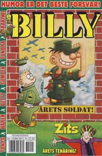 Cover Thumbnail for Billy (Hjemmet / Egmont, 1998 series) #1/2013