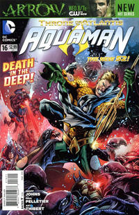 Cover Thumbnail for Aquaman (DC, 2011 series) #16