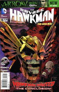 Cover Thumbnail for The Savage Hawkman (DC, 2011 series) #16