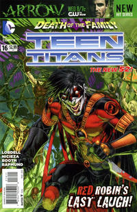 Cover Thumbnail for Teen Titans (DC, 2011 series) #16