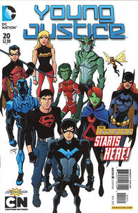 Cover Thumbnail for Young Justice (DC, 2011 series) #20