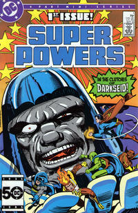 Cover Thumbnail for Super Powers (DC, 1985 series) #1 [Direct]