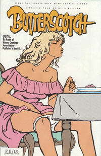 Cover Thumbnail for Butterscotch: The Flavor of the Invisible (Fantagraphics, 1990 series) #2