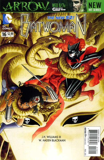 Cover for Batwoman (DC, 2011 series) #16