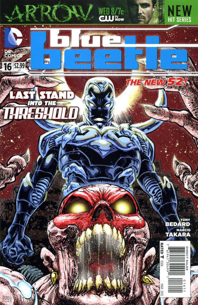 Cover for Blue Beetle (DC, 2011 series) #16