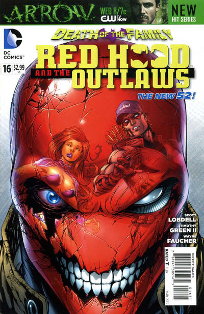 Cover for Red Hood and the Outlaws (DC, 2011 series) #16