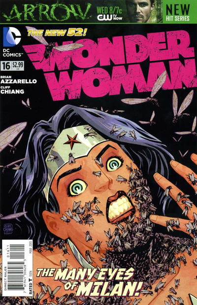 Cover for Wonder Woman (DC, 2011 series) #16