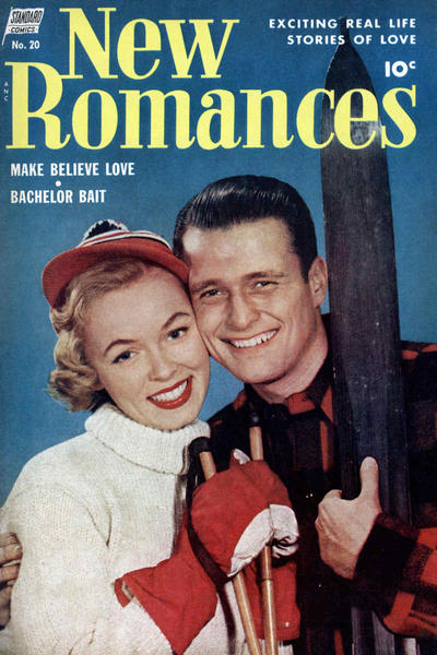 Cover for New Romances (Pines, 1951 series) #20