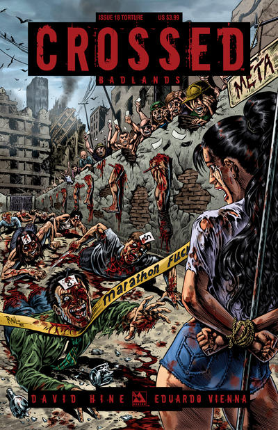Cover for Crossed Badlands (Avatar Press, 2012 series) #18