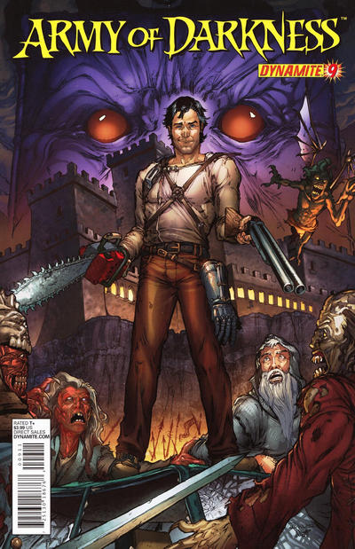 Cover for Army of Darkness (Dynamite Entertainment, 2012 series) #9