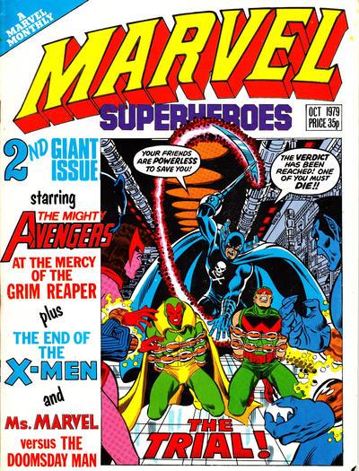 Cover for Marvel Superheroes [Marvel Super-Heroes] (Marvel UK, 1979 series) #354
