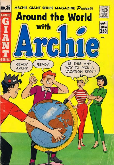 Cover for Archie Giant Series Magazine (Archie, 1954 series) #35 [Canadian Price Variant]