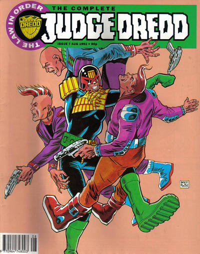 Cover for The Complete Judge Dredd (Fleetway Publications, 1992 series) #7
