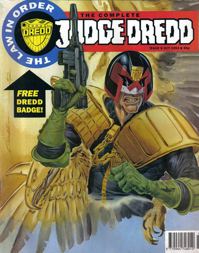 Cover for The Complete Judge Dredd (Fleetway Publications, 1992 series) #9