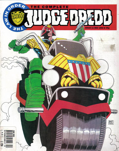 Cover for The Complete Judge Dredd (Fleetway Publications, 1992 series) #11