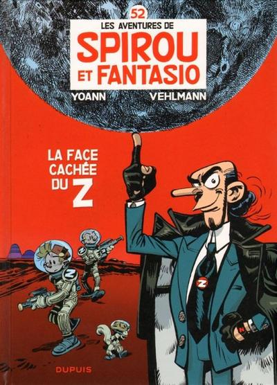 Cover for Les Aventures de Spirou et Fantasio (Dupuis, 1950 series) #52 - La Face cachée du Z