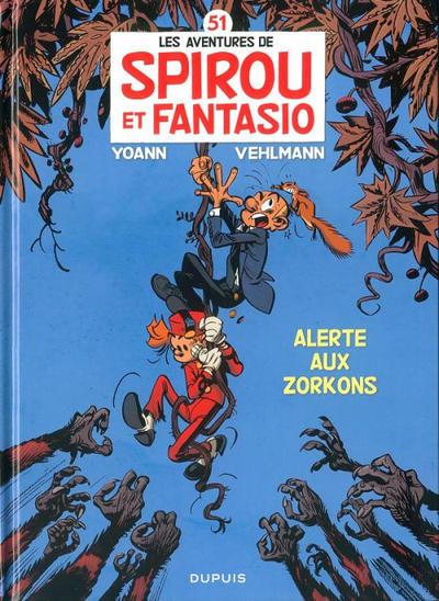 Cover for Les Aventures de Spirou et Fantasio (Dupuis, 1950 series) #51 - Alerte aux Zorkons