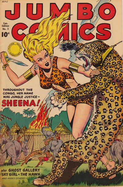 Cover for Jumbo Comics (Publications Services Limited, 1949 series) #3