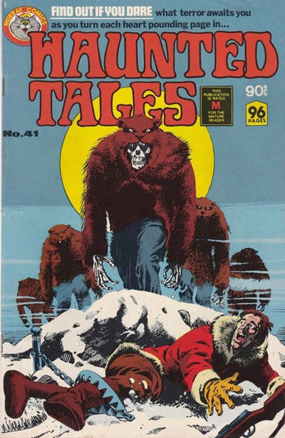Cover for Haunted Tales (K. G. Murray, 1973 series) #41