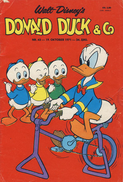 Cover for Donald Duck & Co (Hjemmet / Egmont, 1948 series) #43/1971