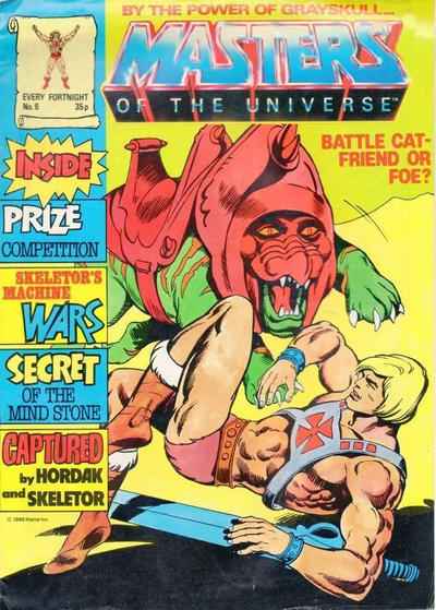 Cover for Masters of the Universe (Egmont UK, 1986 series) #6