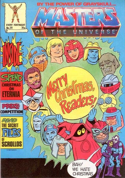 Cover for Masters of the Universe (Egmont UK, 1986 series) #20