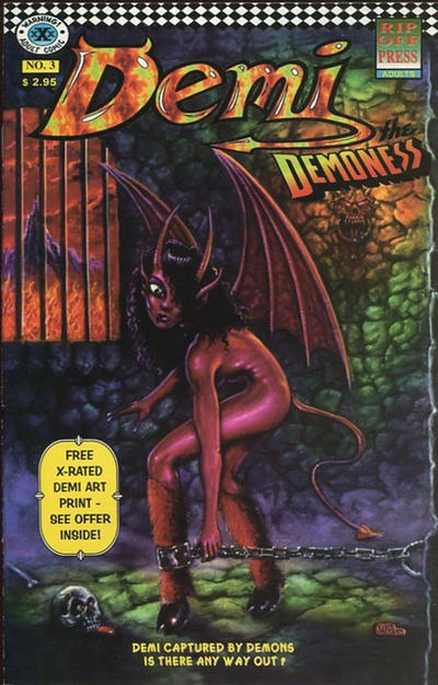 Cover for Demi the Demoness (Rip Off Press, 1993 series) #3
