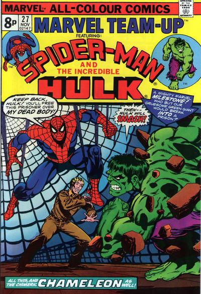 Cover for Marvel Team-Up (Marvel, 1972 series) #27