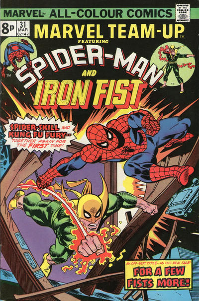 Cover for Marvel Team-Up (Marvel, 1972 series) #31