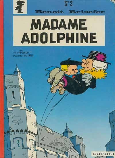 Cover for Benoît Brisefer (Dupuis, 1962 series) #2 - Madame Adolphine