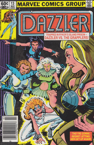 Cover for Dazzler (Marvel, 1981 series) #13 [Newsstand Edition]