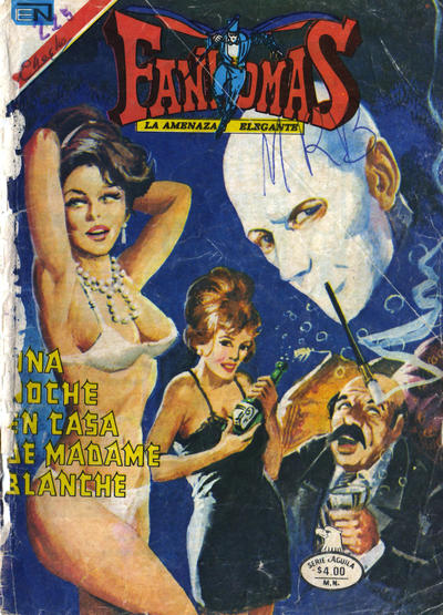 Cover for Fantomas (Editorial Novaro, 1969 series) #382