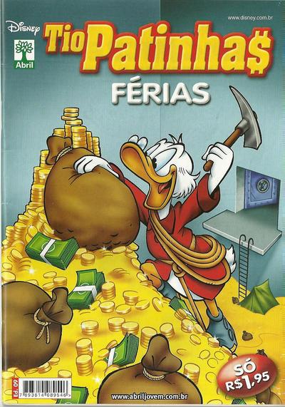 Cover for Tio Patinhas Férias (Editora Abril, 2008 series) #9