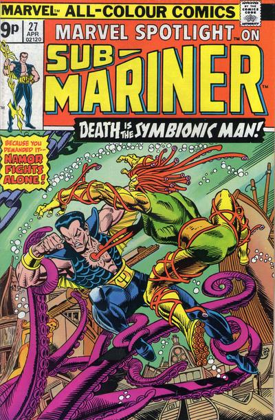 Cover for Marvel Spotlight (Marvel, 1971 series) #27 [25¢]