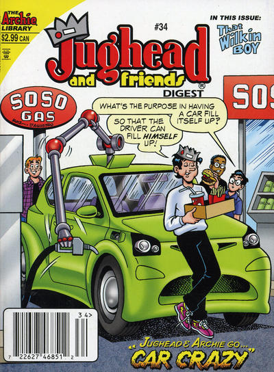 Cover for Jughead & Friends Digest Magazine (Archie, 2005 series) #34 [Direct]