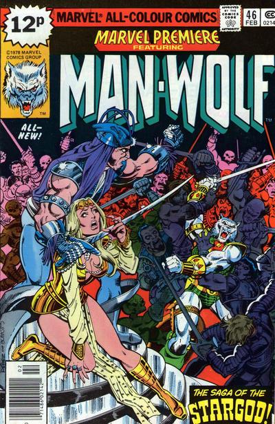 Cover for Marvel Premiere (Marvel, 1972 series) #46 [British]