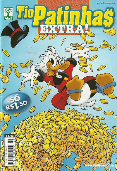 Cover for Tio Patinhas Extra (Editora Abril, 2008 series) #2