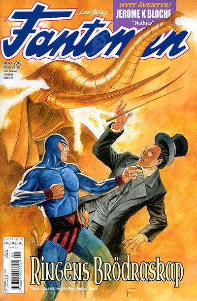 Cover for Fantomen (Egmont, 1997 series) #4/2013