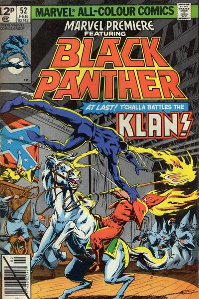 Cover for Marvel Premiere (Marvel, 1972 series) #52
