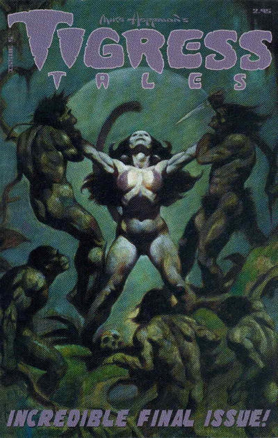 Cover for Tigress Tales (Amryl Entertainment, 2001 series) #5