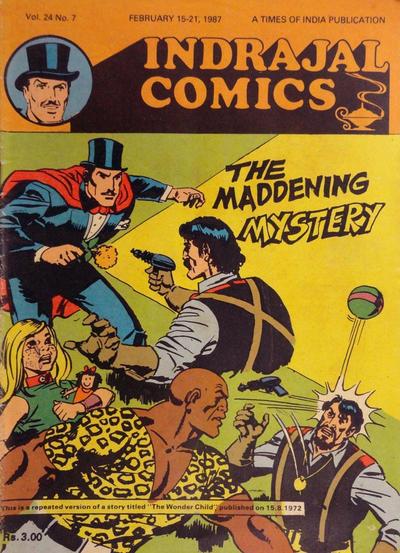 Cover for Indrajal Comics (Bennet, Coleman & Co., 1964 series) #v24#7 [659]