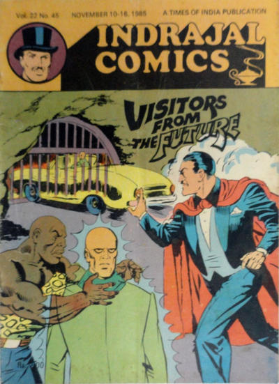 Cover for Indrajal Comics (Bennet, Coleman & Co., 1964 series) #v22#45 [588]