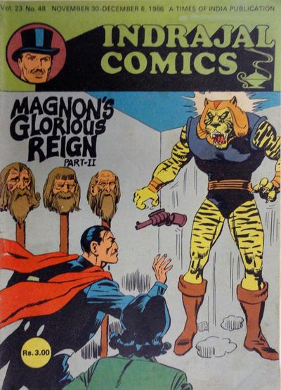 Cover for Indrajal Comics (Bennet, Coleman & Co., 1964 series) #v23#48 [648]